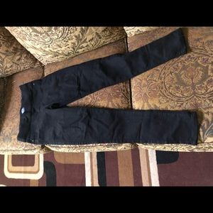 Old navy mid rise black jeggings never worn